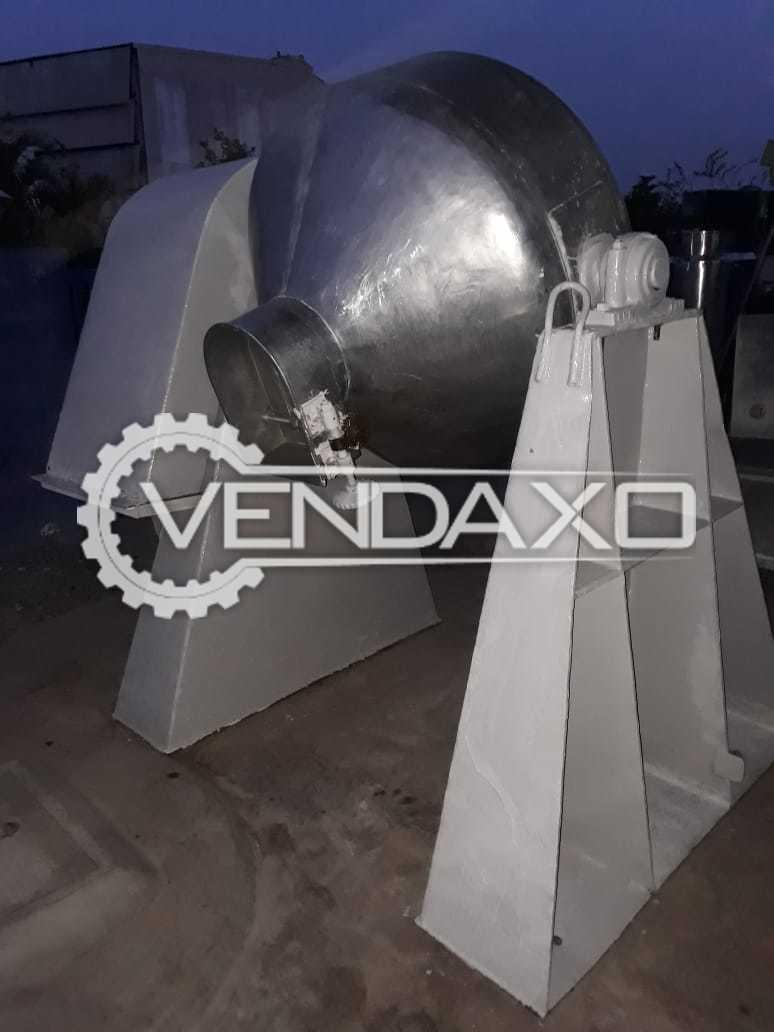 Double Cone Blender - 250 KG