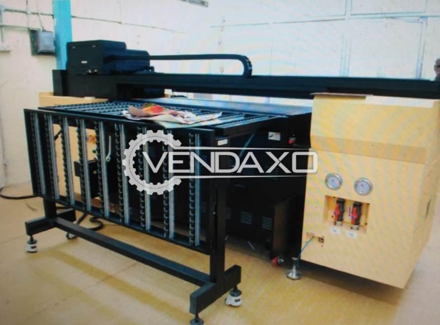DILLI 1606 WS 6 Color and 2 White Head UV Printer
