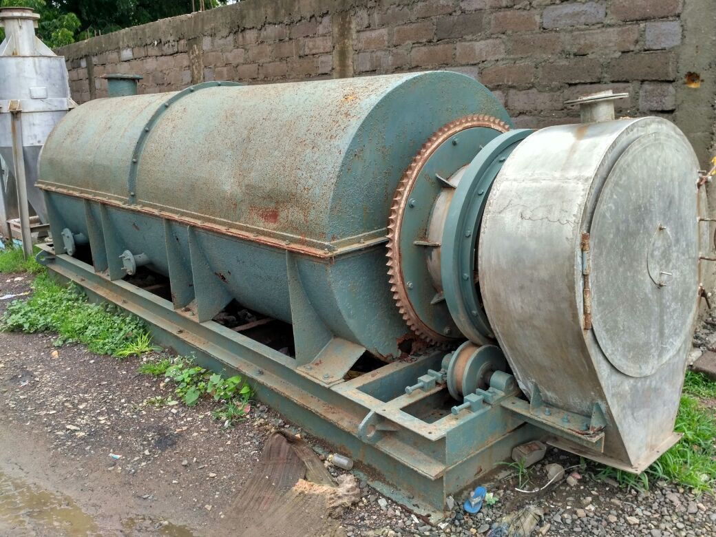 Hot air rotary drum dryer 2