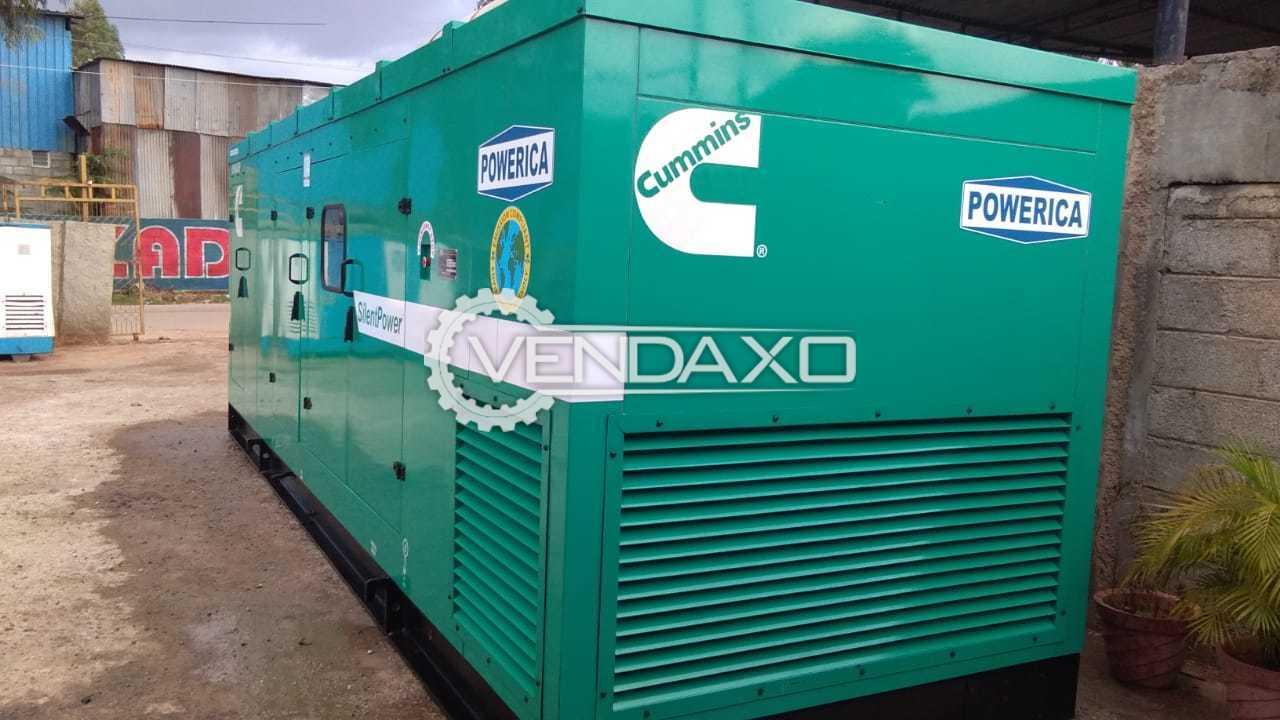 CUMMINS Diesel Generator - 500 KVA , 2013 Model
