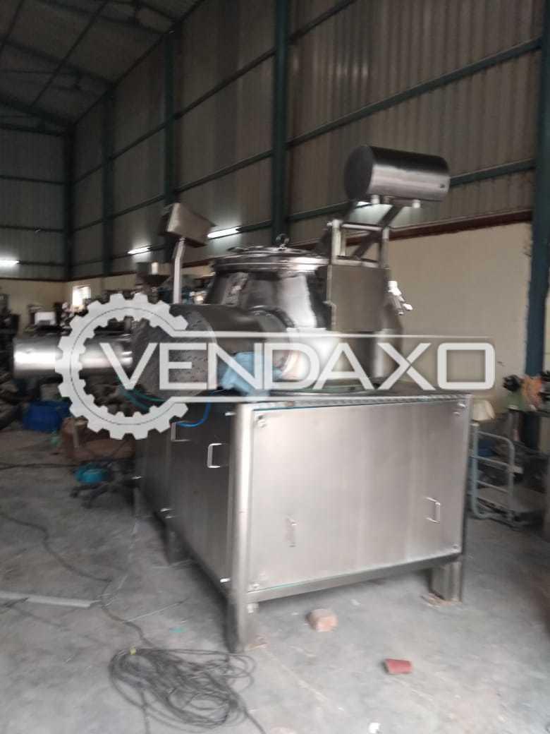 Rapid Mixing Granulation (RMG) - 600 Liter