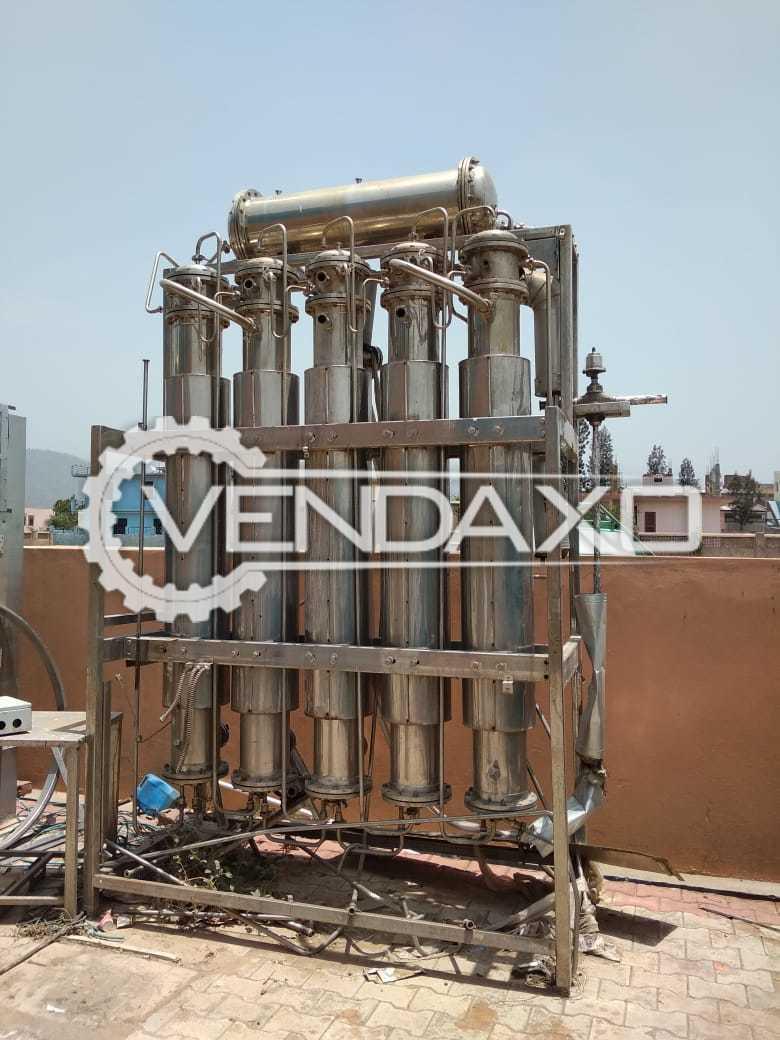 Multi Column Distillation Plant - 500 Liter