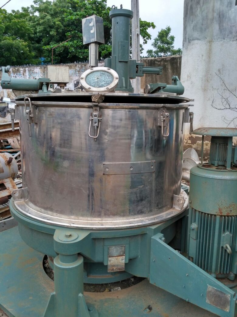 Centrifuge Bottom Discharge