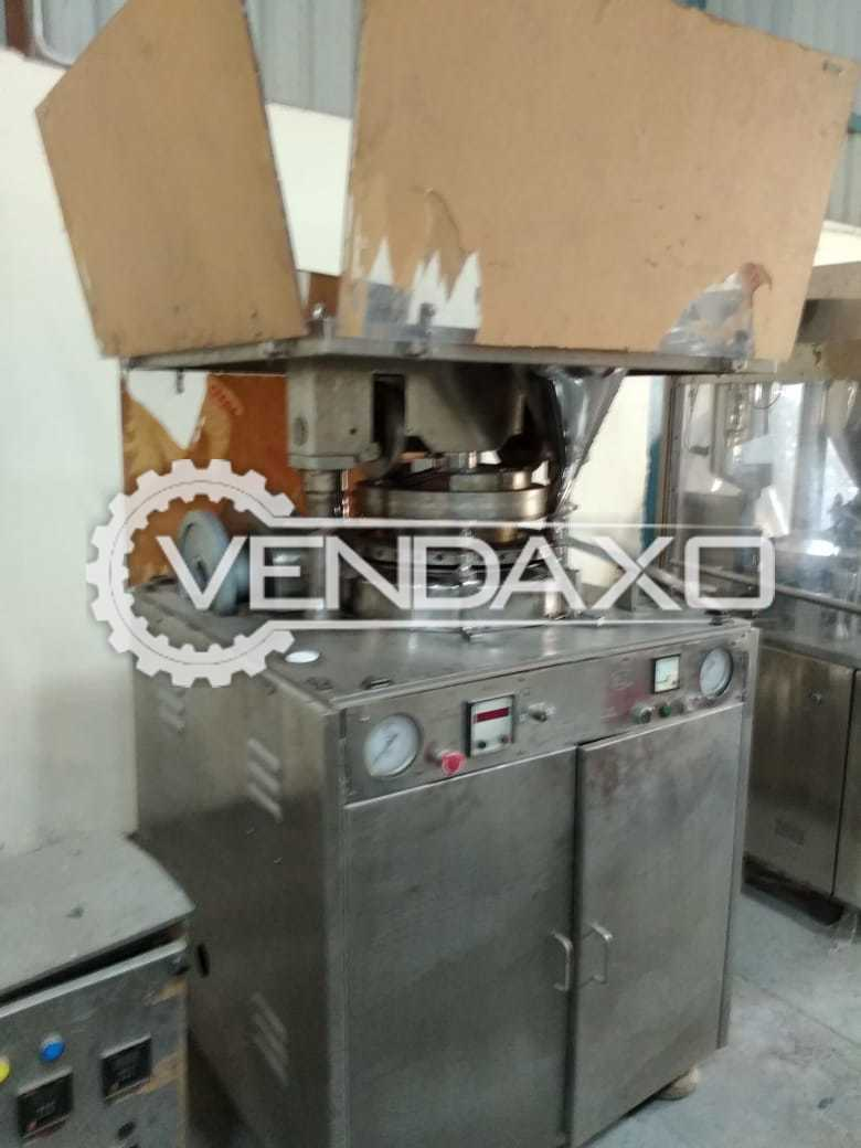 27 Station Rotary Tablet Press Machine - GMP Model