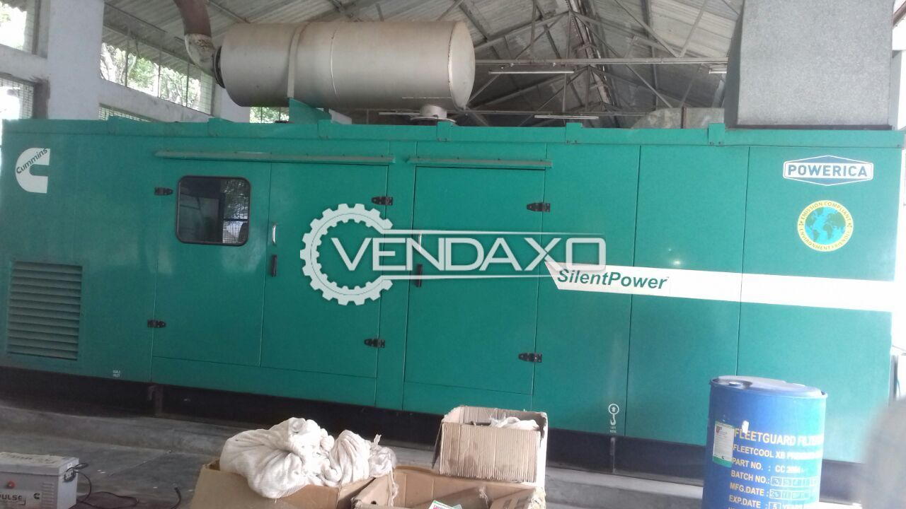 CUMMINS Diesel Generator - 500 KVA , 2010 model