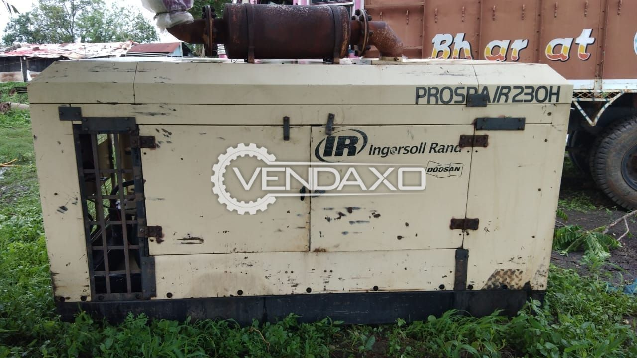 Ingersoll Rand (IR) Air Compressor With 6CTA Cummins Engine