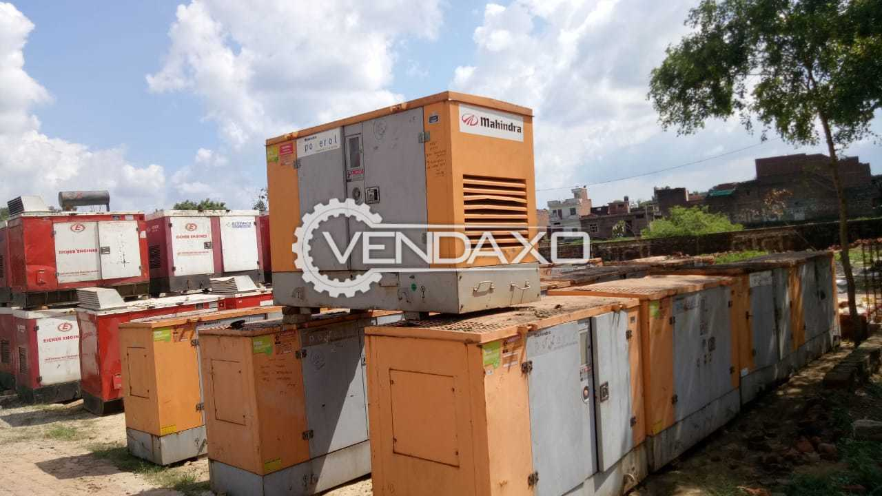 Available For Sale Mahindra , Kirloskar , Eicher Diesel Generator - 10 to 15 Kva , Model 2008 to 2014