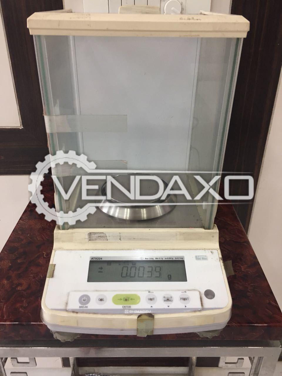 Shimadzu ATX 224 Analytical Balance - 220 Gram