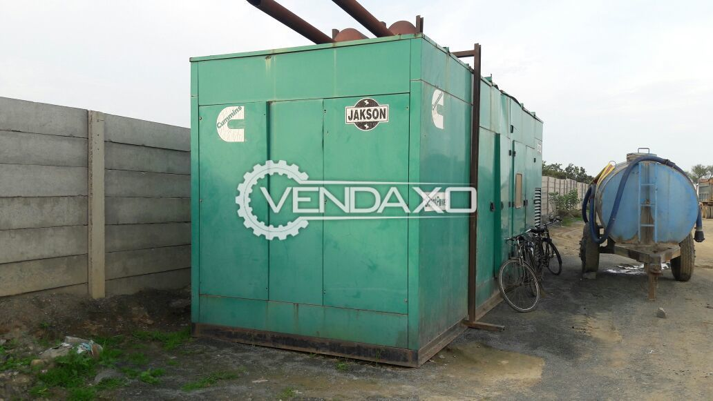 Available For Sale Two Unit Cummins Diesel Generator - 625 KVA , 2012 Model