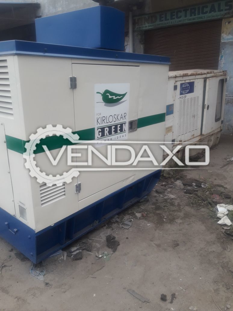 Kirloskar Diesel Generator - 15 Kva , 2009 Model