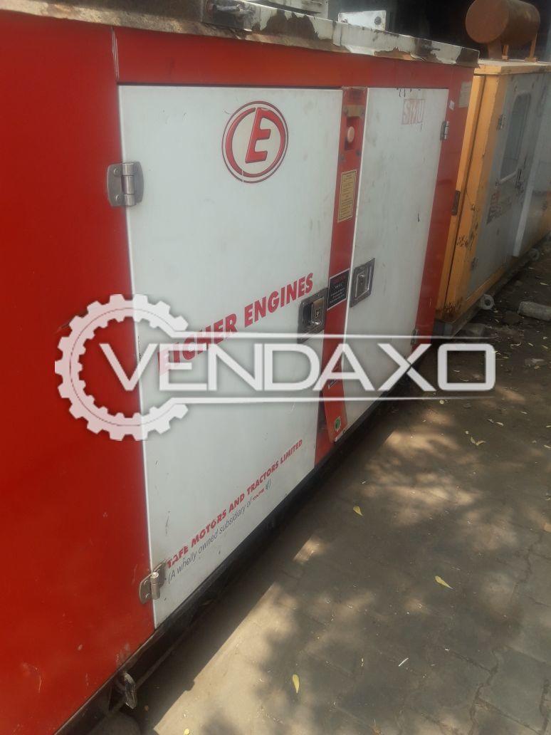 Eicher Diesel Generator - 25 Kva , 2014 Model