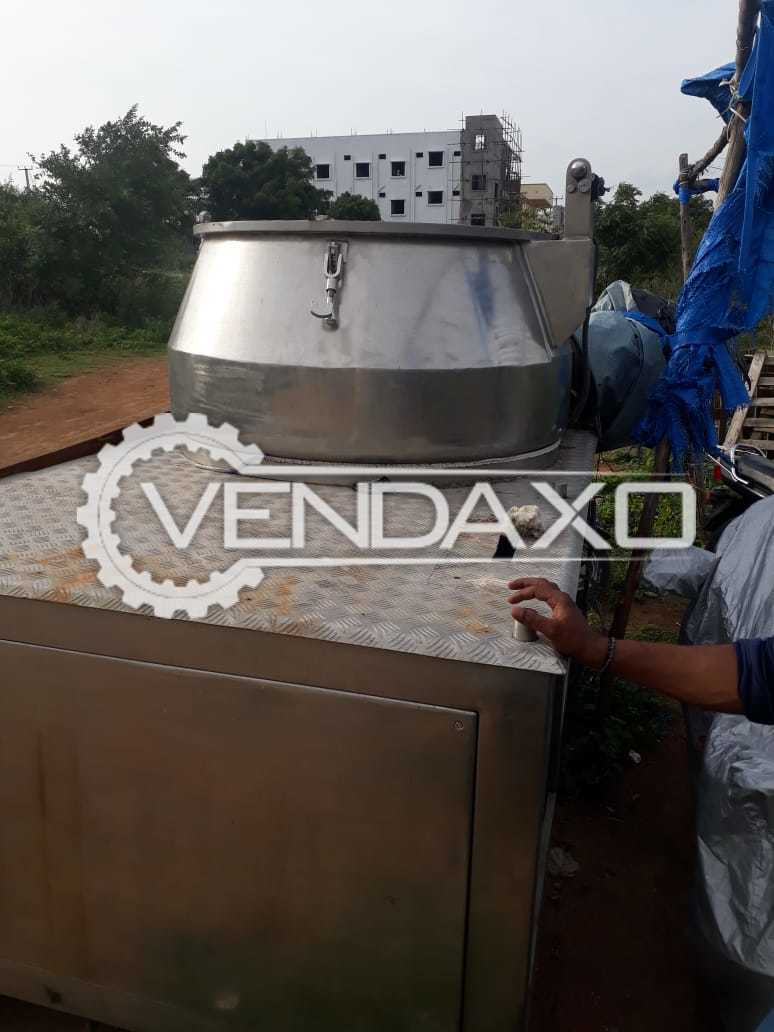 Rapid Mixing Granulation (RMG) - GMP Model - 600 Liter Without Panel Box