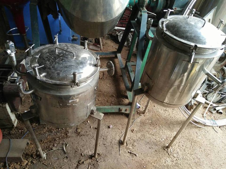 Jacketed Vessel - 10Ltr & 20Ltr Capacity