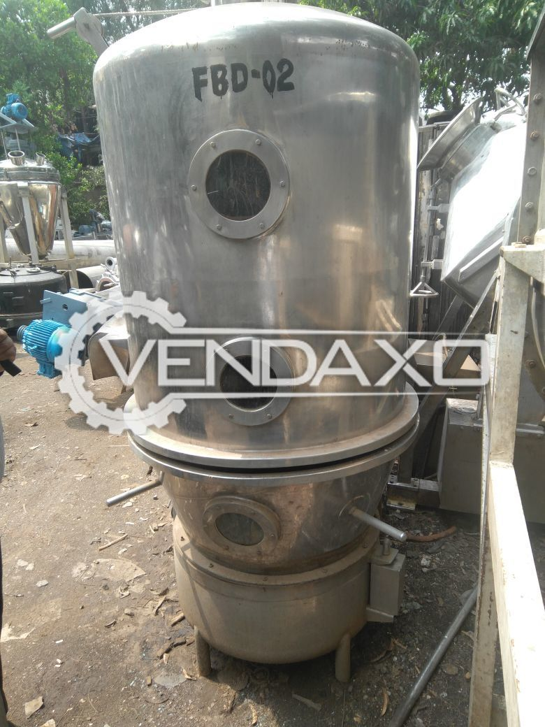 Fluid Bed Dryer (FBD) GMP Model - 60 KG