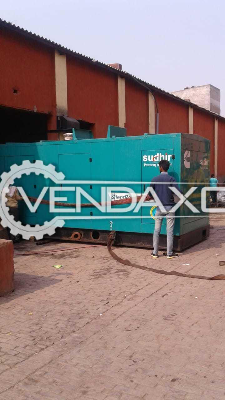 Cummins Silent Diesel Generator - 500 Kva , 2013 Model