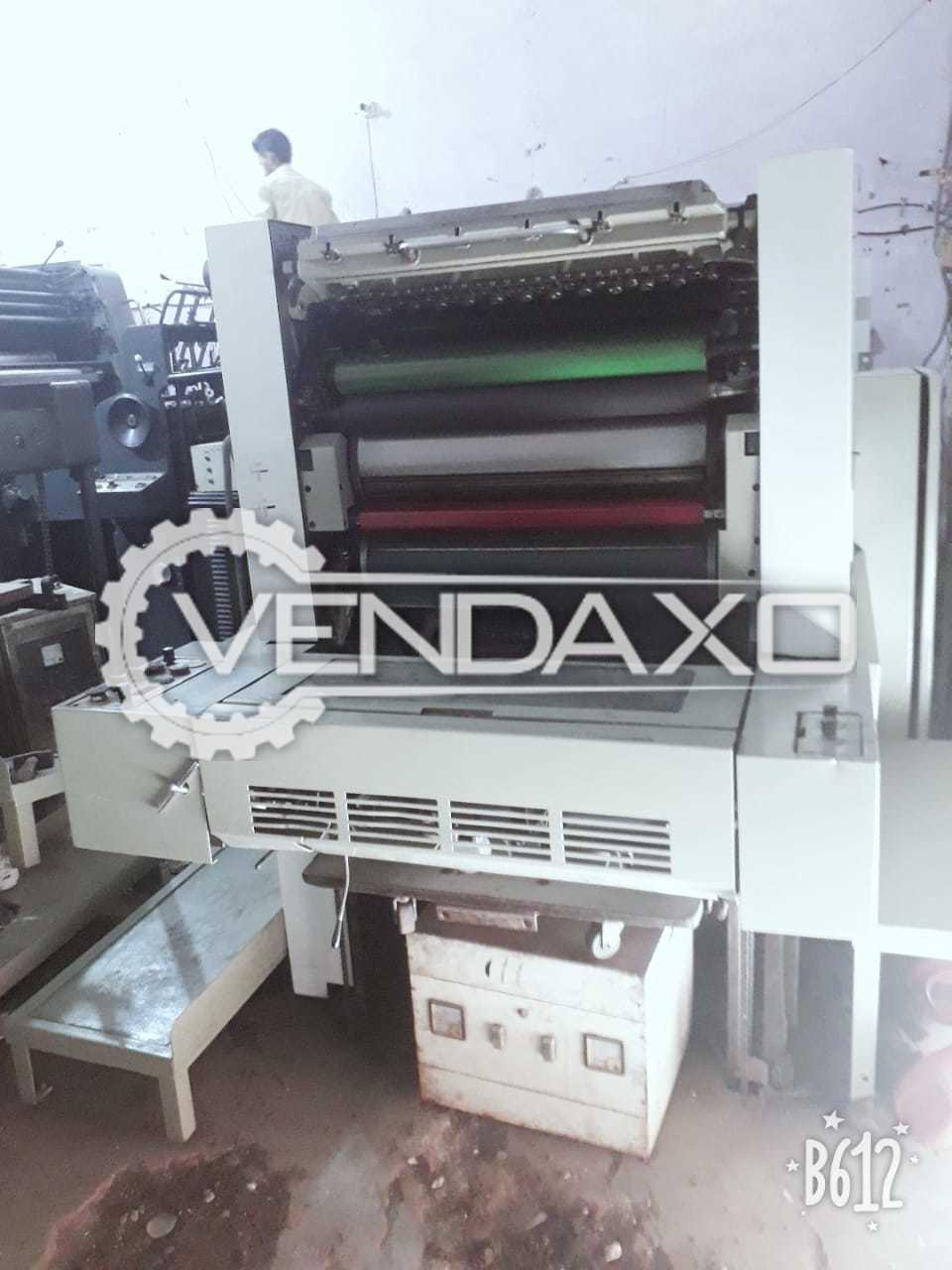 ADAST DOMINANT 715 Offset Printing Machine - 19 X 26 Inch , Single Color