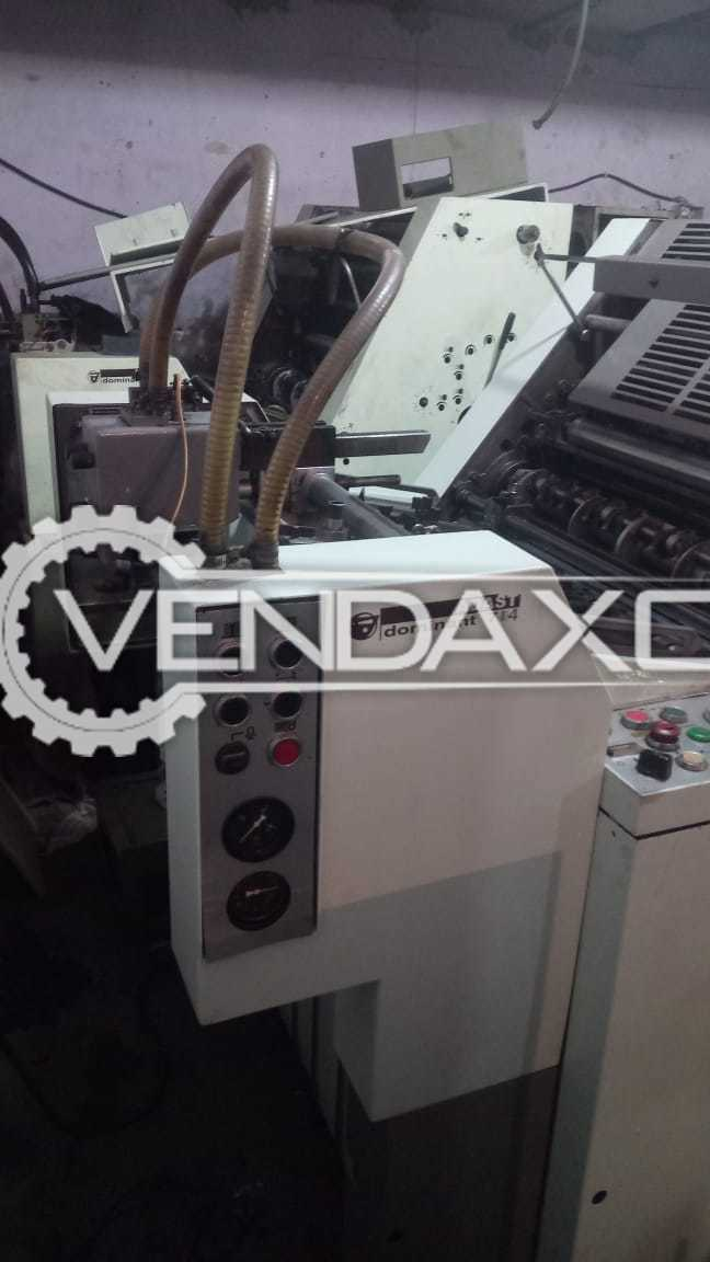 ADAST DOMINANT 714 Offset Printing Machine - 19 X 26 Inch , Single Color
