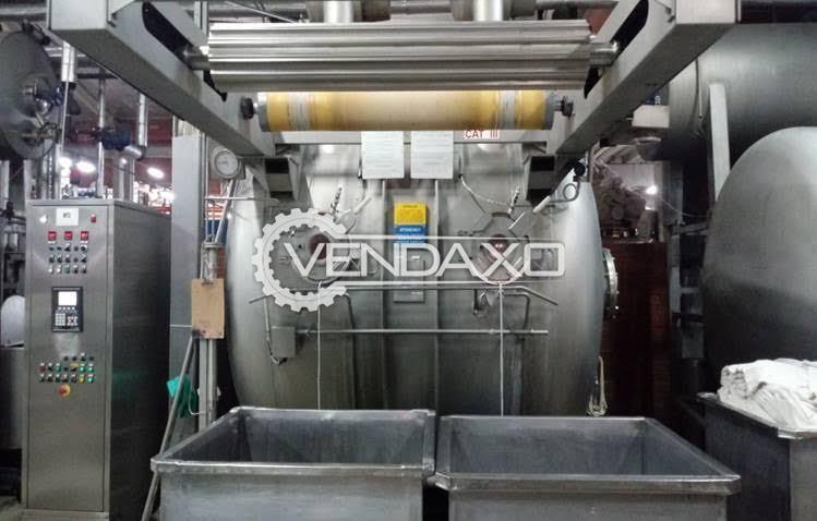 BRAZZOLI HT400 Dyeing Machine - 400 KG