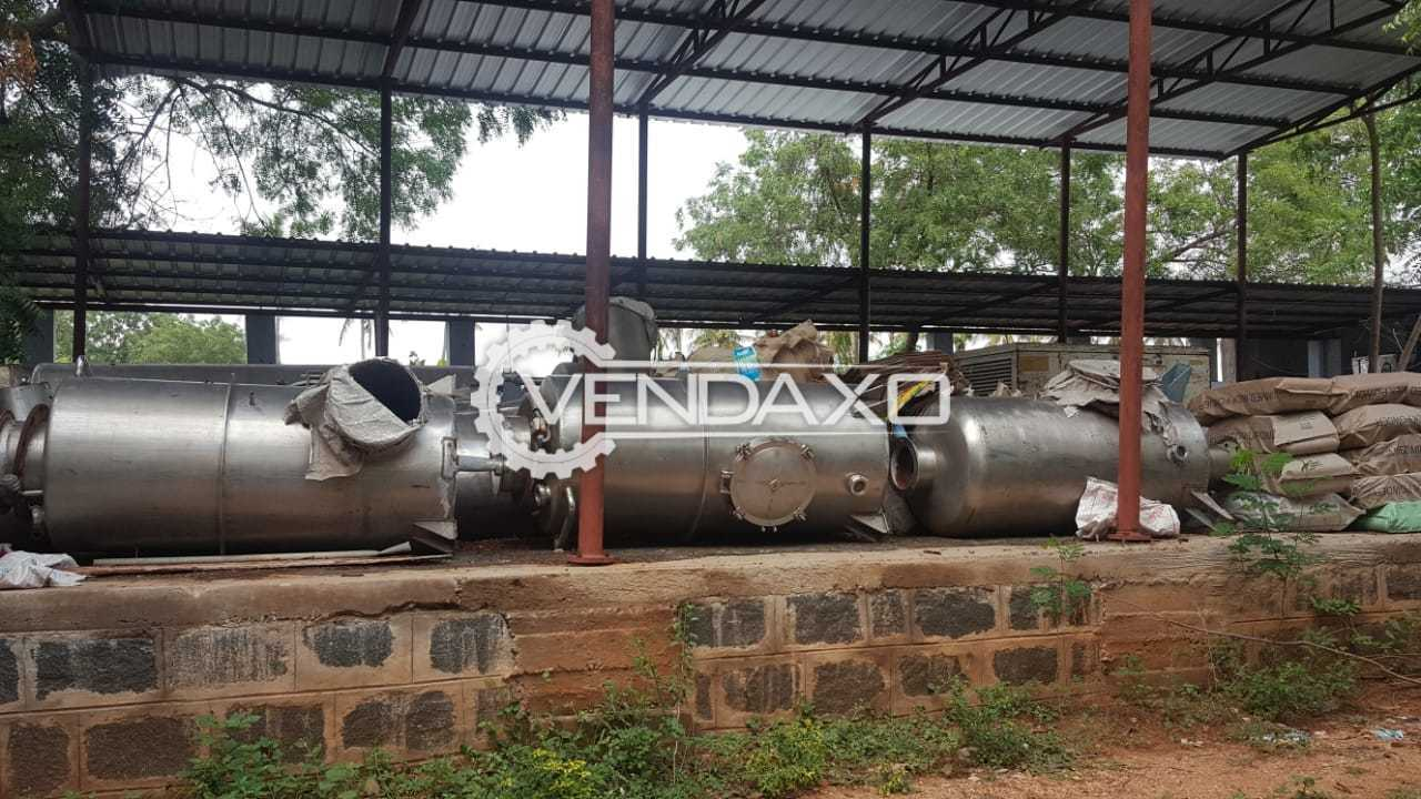 Available For Sale Milk Condensing Evaporator