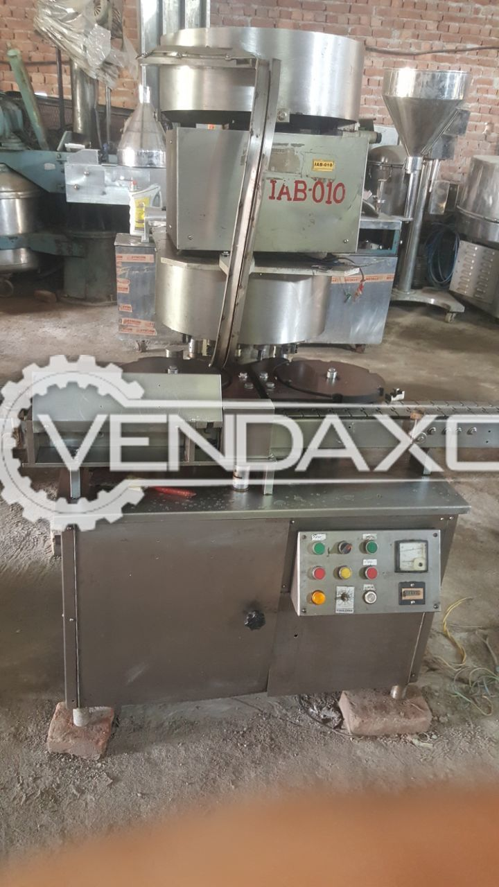 Four head Vial Sealing Machine