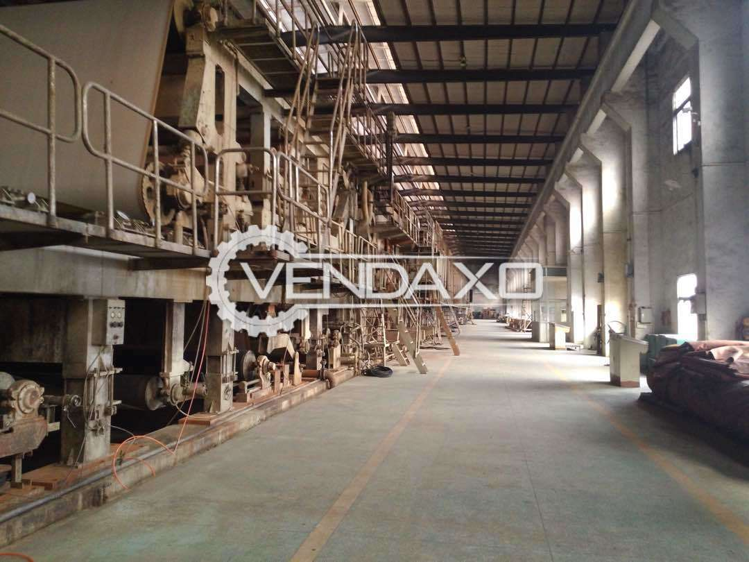 Complete Paper Machinery Plant