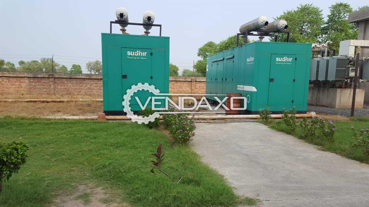 Available For Sale 2 Set Cummins Diesel Generator - 600 Kva With Stamford Alternator
