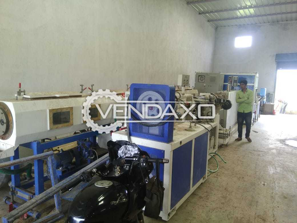 WINDSOR KTS-200 Twine Screw Pipe Extrusion Machine