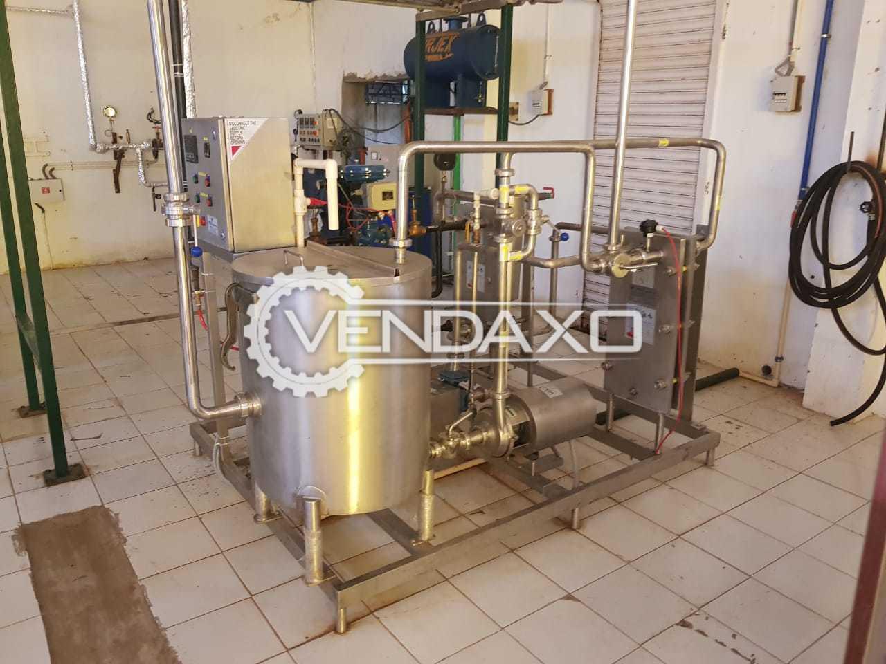 Dairy - Paneer Plant - Capacity - 1 Ton Per Day