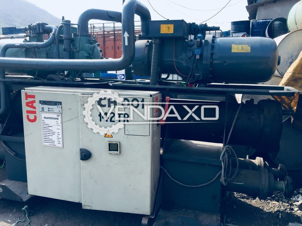 CIAT Chilling Plant - 142 TR With Screw Air Compressor