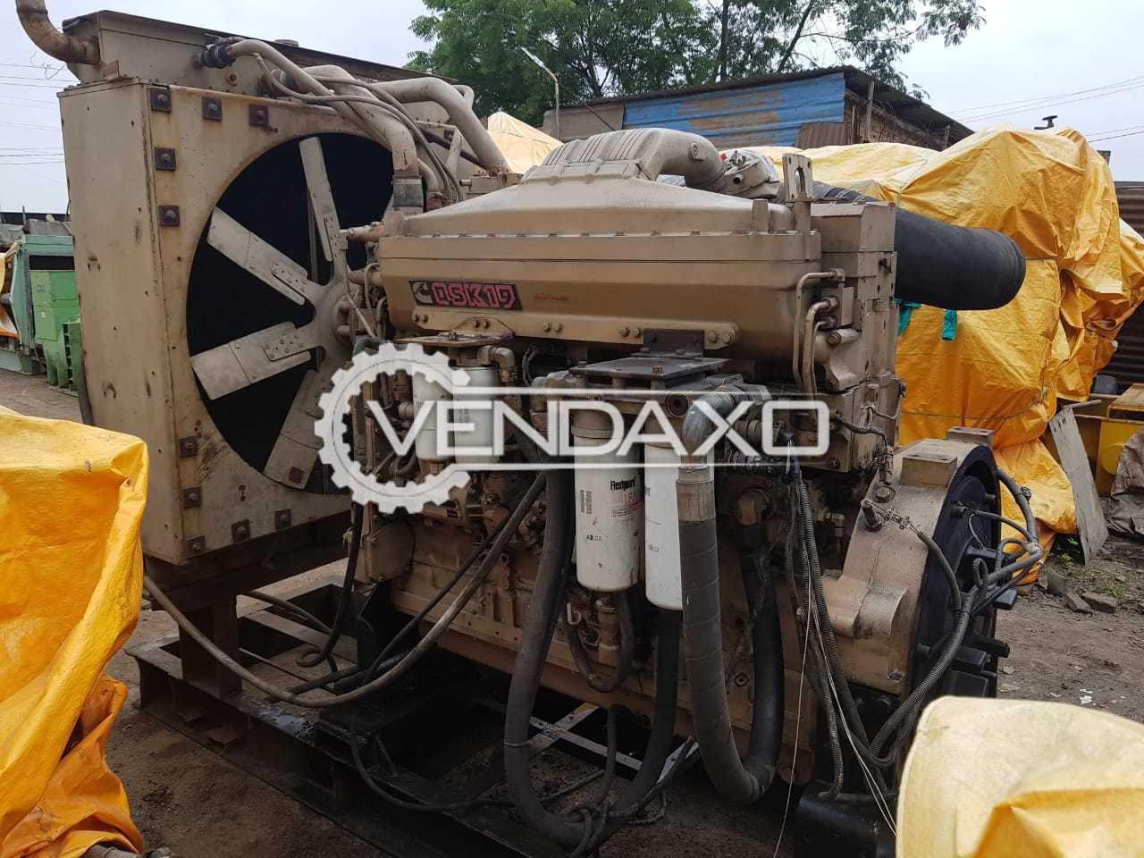 Cummins QSK-19 Generator Engine - 750 HP / 560 KW