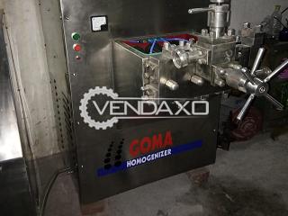 GOMA Homogenizer - 3000 Liter