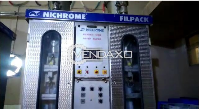 Available For Sale 2 Set of Nichrome Filpack Packaging Machine - Capacity - 5000 Liter Per Hour