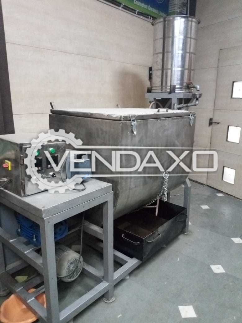 Available For Sale Spiral Mixer With Mixing Tank - 150 KG