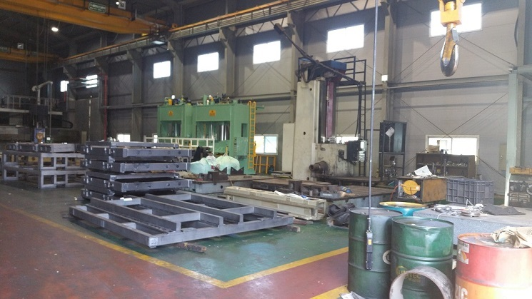 Union BFP130 CNC Floor Type Boring Mill