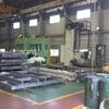 Thumb cnc floor type boring mill.