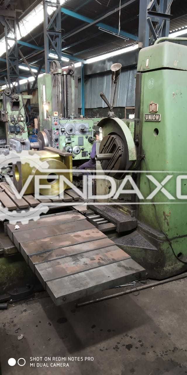 Available For Sale Union Boring Machine