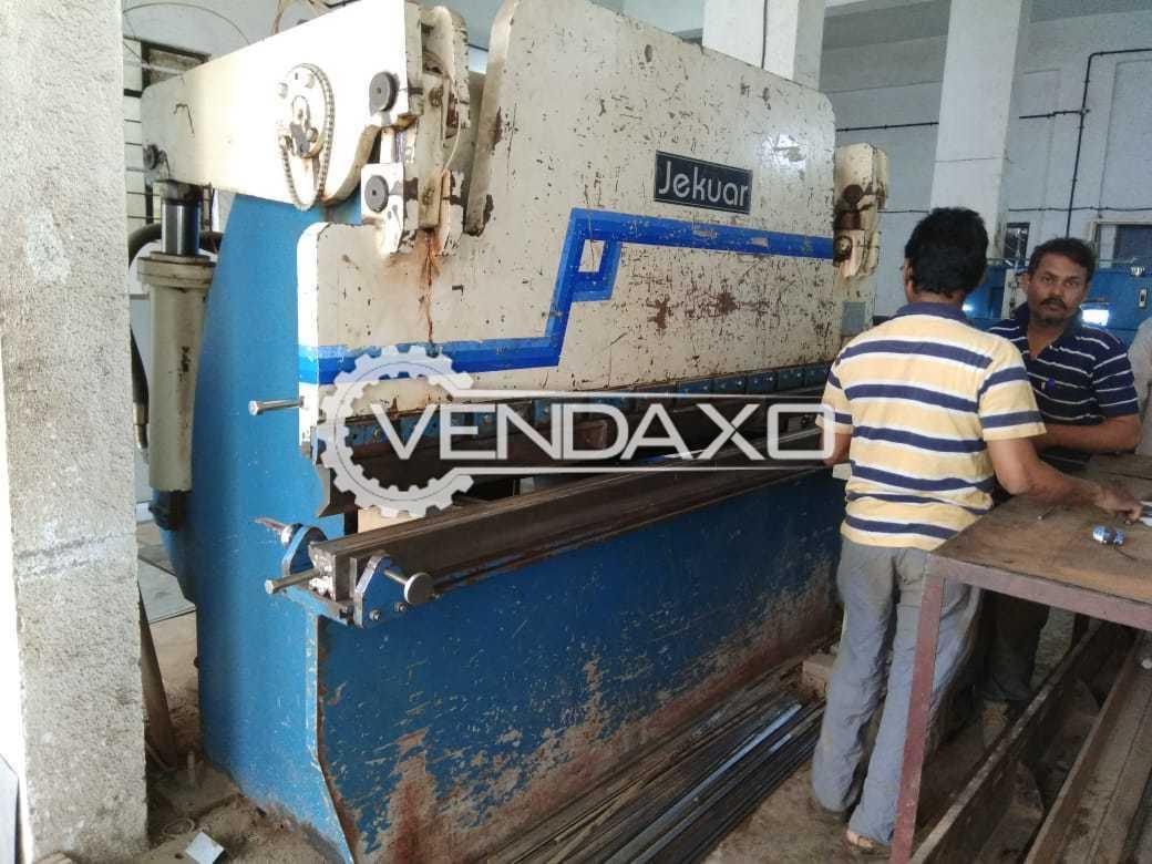 Jekaur Hydraulic Shearing Machine - 4 x 2500 mm