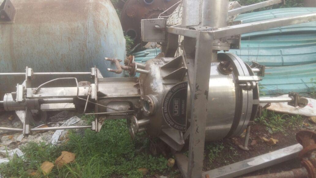UDE Agitated Nutsche Filter Dryer - ANFD - 1 KL
