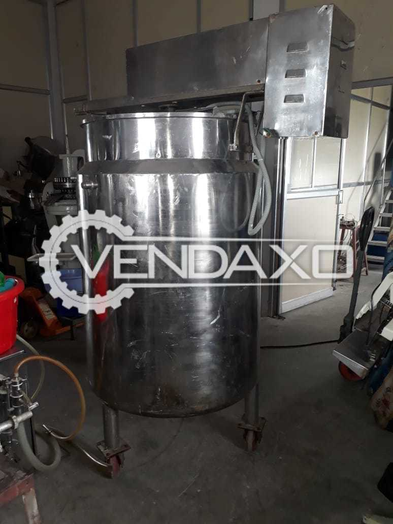 Steam Jacketed Kettle - 500 Liter