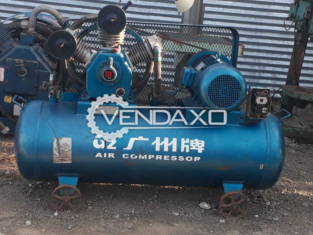 Guanzhou Guanzhong Air Compressor - 10 HP , 7.5 KW