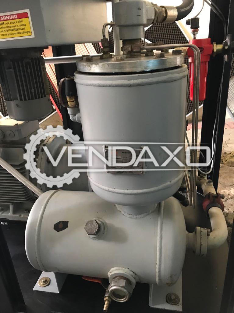 Used ELGI E22 Rotary Screw Air Compressors - 30 HP, 22 KW