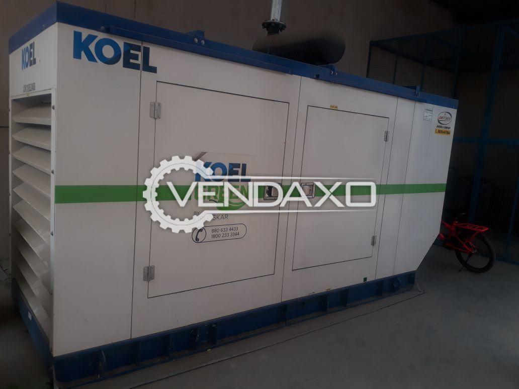 Kirloskar Silent Diesel Generator - 125 Kva , 2017 Model