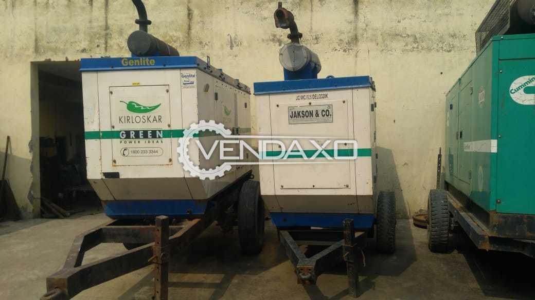 Kirloskar 4R1040 Diesel Generator - 62.5 Kva , 2013 Model