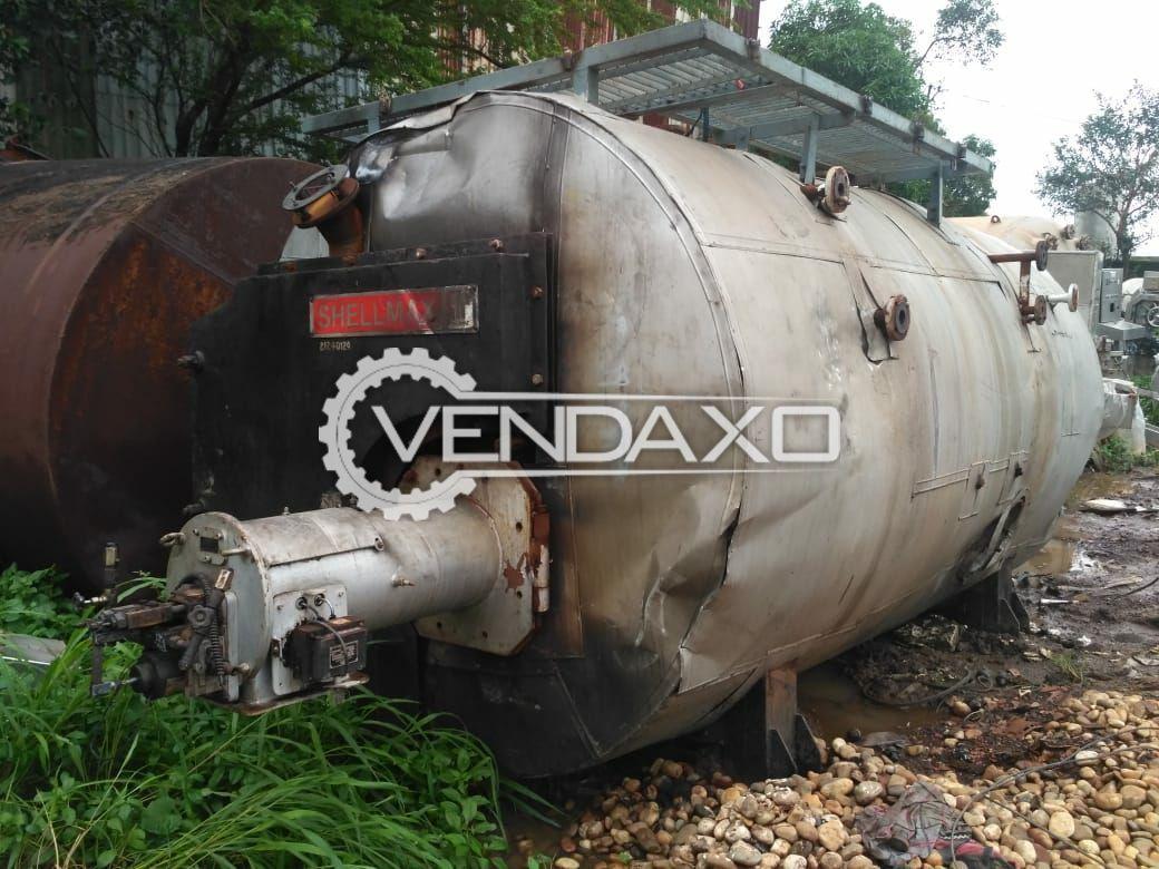 Horizontal Smoke Tube Package Boiler - 2 Ton