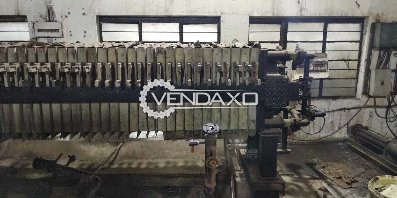 Hydraulic Filter Press Size - 30 Inch