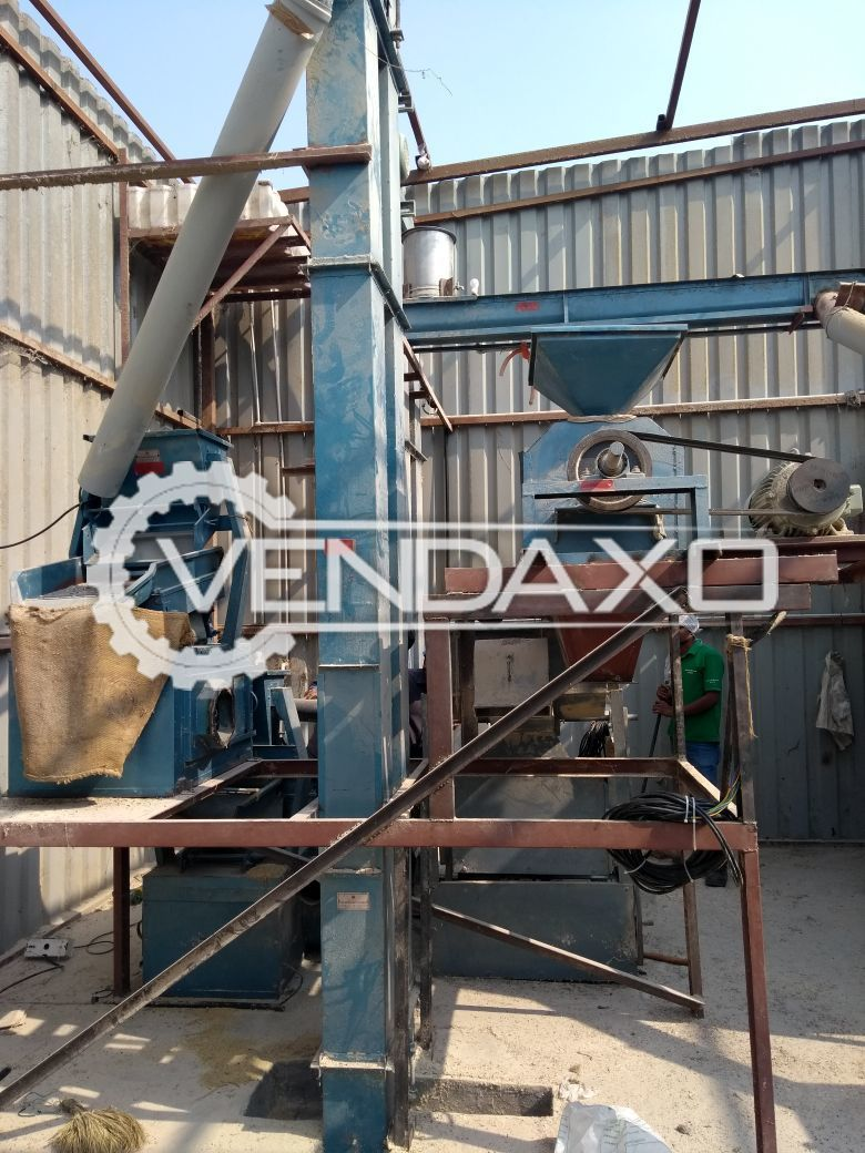 Available For Sale Dal Mill (Pulses processing) Full Setup with Fataka machine , Chakki machine , Worm, Pre-Cleaners , De-stoner , Gravity Separator, Polisher , Elevators , Storage tank