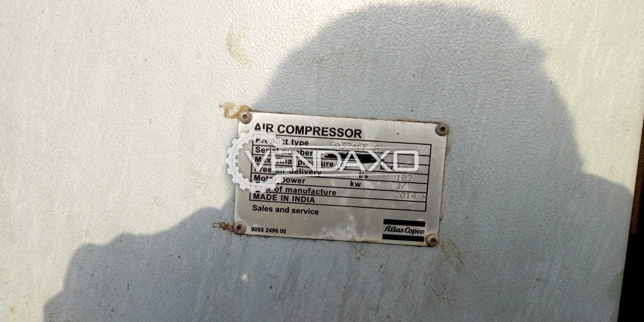 Atlas Copco GA 37+FF A Air Compressor - 37 KW