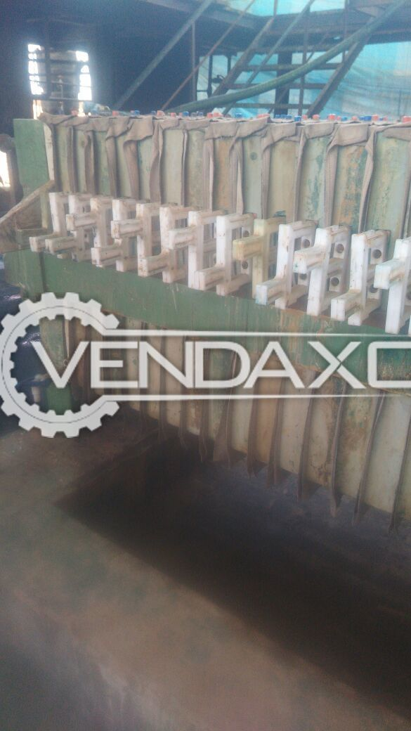 Hydraulic Filter Press Size - 36 Inch With 36 p p Plates , MS Structure