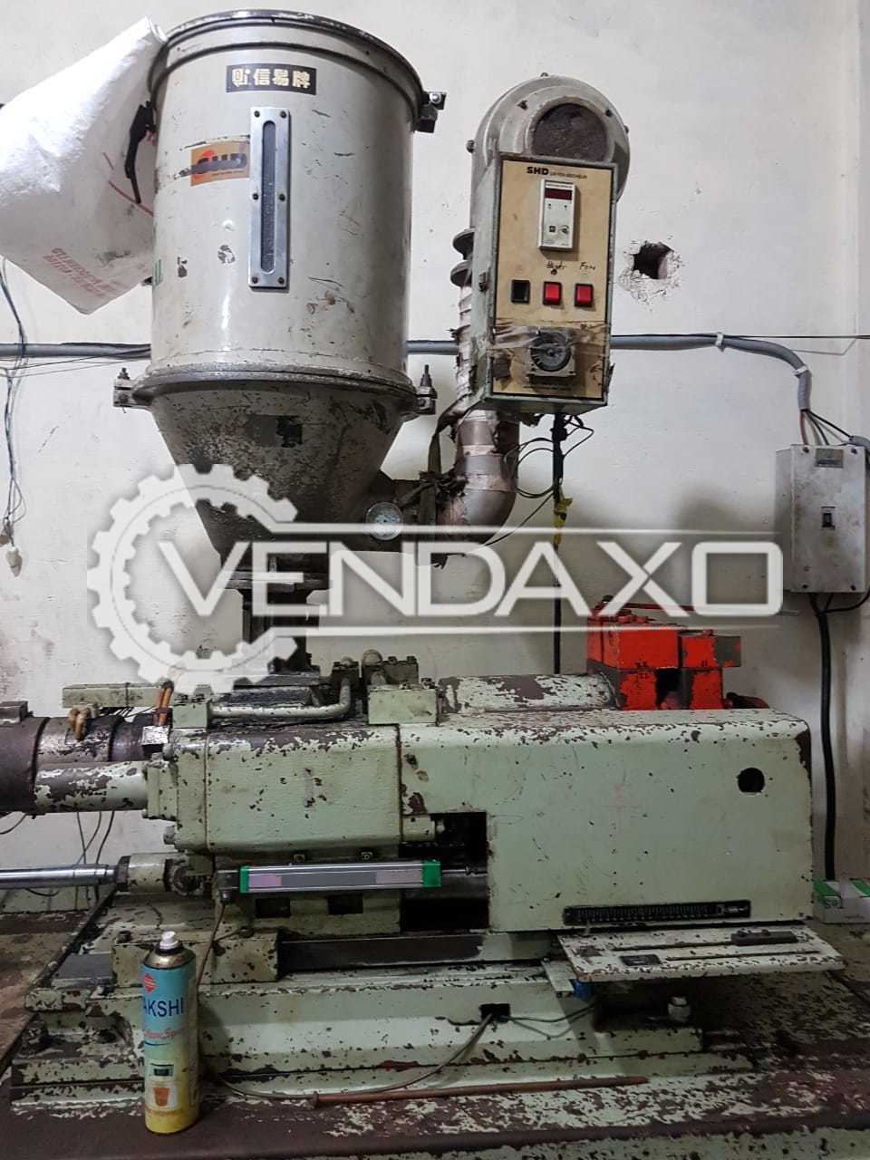 Kawaguchi KM-125-B Injection Moulding Machine - 125 Ton
