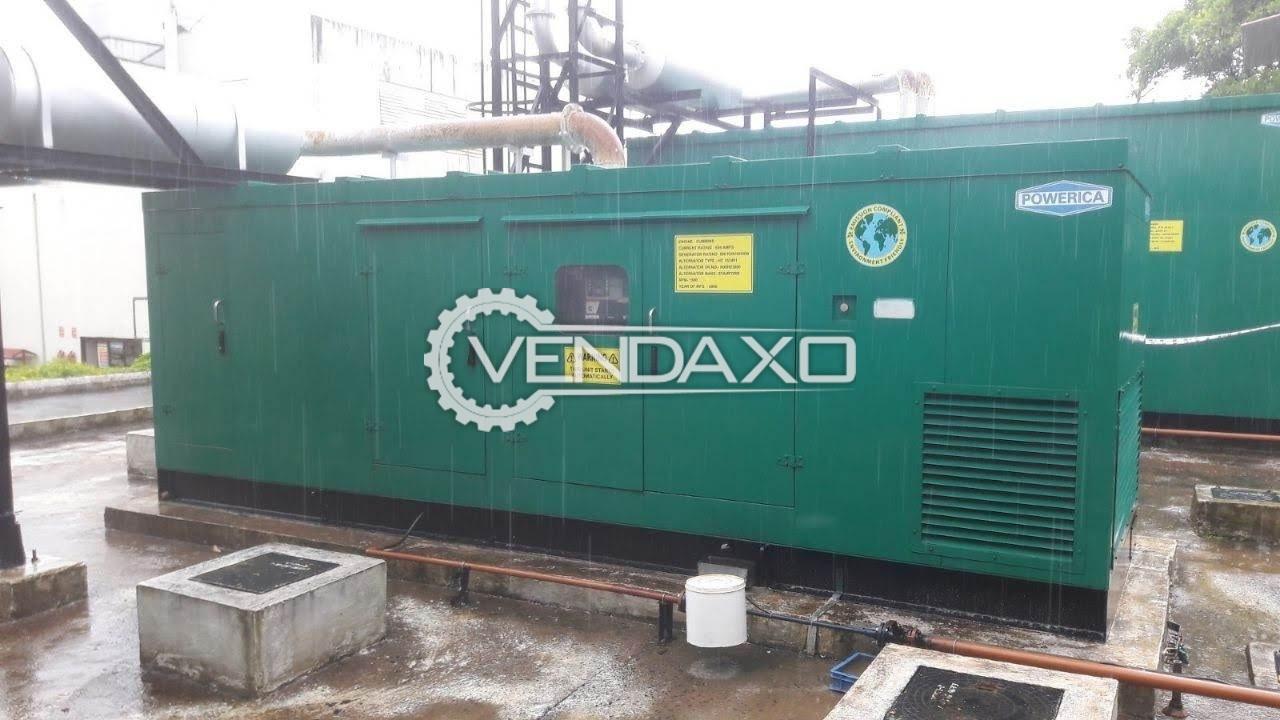 Cummins Powerica Silent Diesel Generator - 500 Kva , 2008 Model